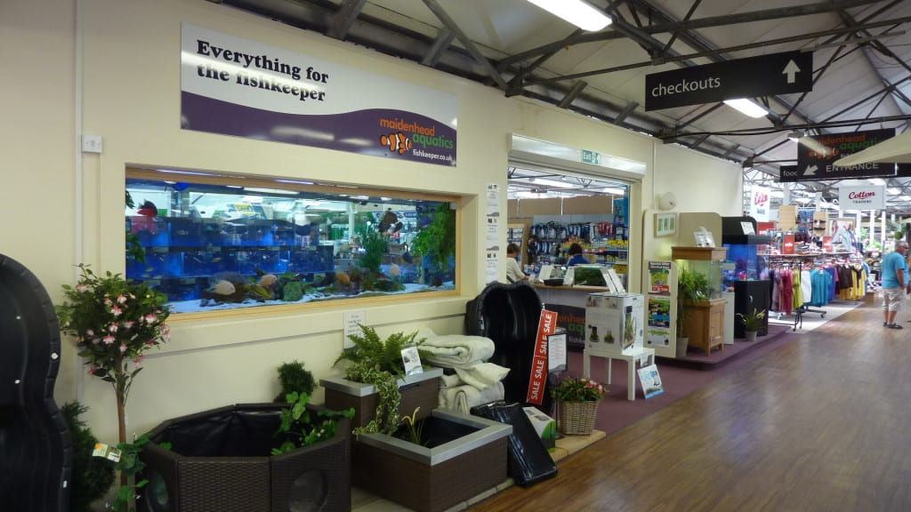 Knutsford Maidenhead Aquatics Entrance