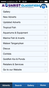aquarist-classifieds-app